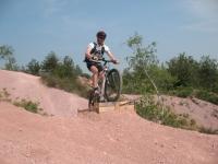 Area free-ride nelle Rive rosse