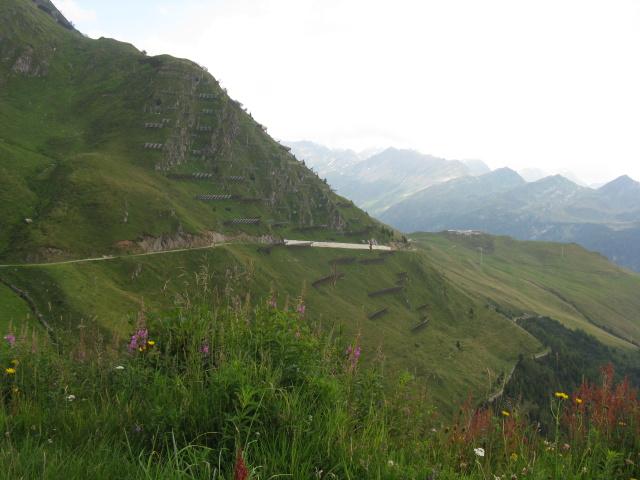 In direzione dell\'Alpe di Pontino