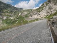 Sulla Tremola verso il Passo del San Gottardo