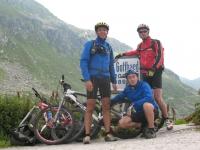 Passo del San Gottardo - il team