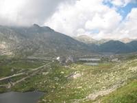 Panoramica sul Passo del San Gottardo