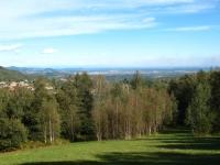 Panorama su pianura padana