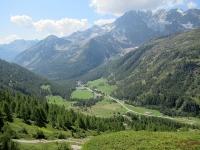 Panorama su Egga percorrendo il Panoramaweg - Bella vista sul Fletschhorn