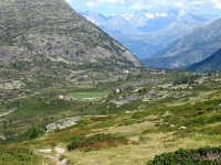 Panoramica sul Passo del Sempione percorrendo il tratto finale del Panoramaweg