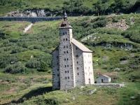 Vecchio ospizio del Sempione - L'attigua chiesa