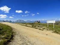 Il Colle nei pressi del Monte Genevris