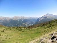 La Val Troncea vista dal Colle Bourget