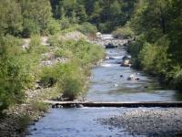 L'attraversamento del torrente Orba