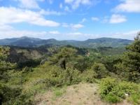 Paesaggio collinare della valle Stura a sud di Ovada