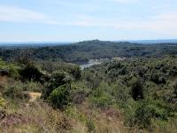 Panorama sul Lago delle Piane dall'attacco del M41