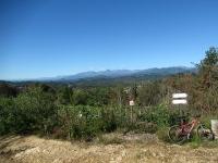 Panorama salendo alla Cima Frascheja