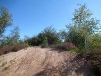 In direzione del Dosso di San Bernardo