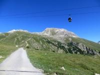 Alpe Laret, salita in direzione di Marguns
