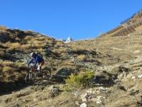 Discesa al Rifugio Bertone su sentiero