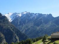 Panorama da Cusiè - Pizzo del Ramulazz (2.939) e Piz di Strega (2.912)