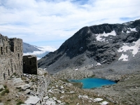 Forte Malamot -  Bel panorama sul Lac Blanc