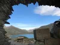 Forte Varisello - Vista sul Lago del Moncenisio