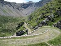Discesa dal Forte Pattacroce percorrendo la bella e caratteristica strada militare