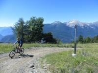 In direzione dell' Alpe Les Boettes