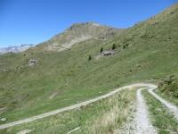 Salita al Col Portola - vista sul Monte Tantanè