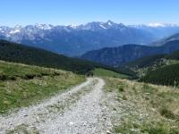 Salita al Col Portola - l'ultimo tratto di strada decisamente ripido