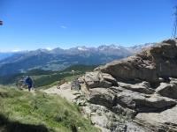 Sguardo sulla Valtournenche dal Col Portola