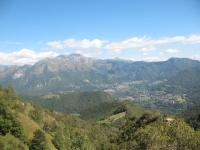 Valsassina, al centro i Piani di artavaggio