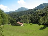 In direzione di Pasturo - panorama