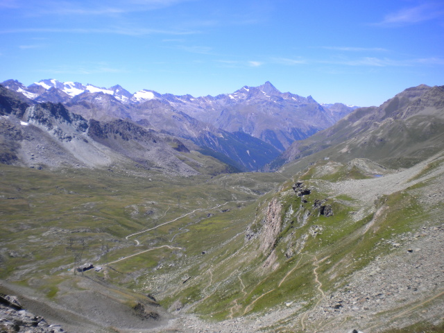Vallone dell'Urtier Alpe di Peradzà dalla finestra di Champorcher