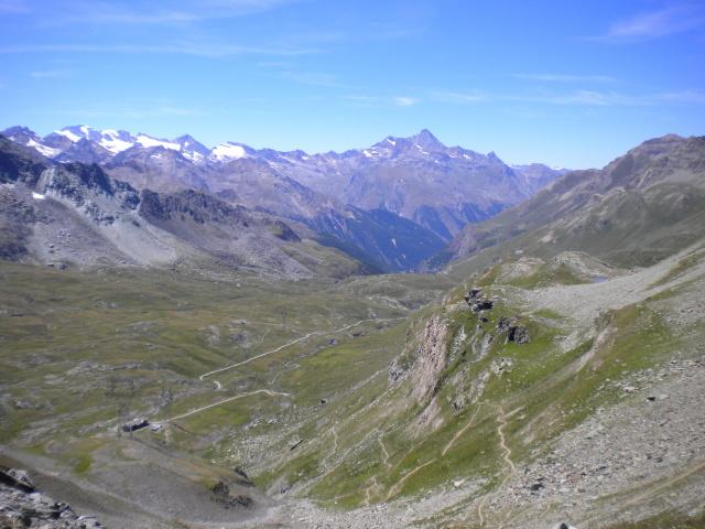 Vallone dell'Urtier Alpe di Peradzà dalla finestra di Champorcher