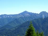 Monte Zeda visto dalla Colma di Craveggia
