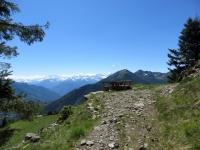 In direzione dell'Alpe Colma di Dentro