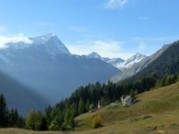 Alpe Dorcia, vista su Monte Leone, Punta Terrarossa e Punta d'Aurona