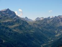 Alta via della Val Bedretto - panorama sul Passo di San Giacomo