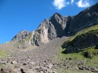 Risalita al Lago del Gries -panorama
