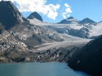 Lago del Gries e ghiacciaio