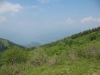Sguardo sull'Alto Lario e su Bellagio dal Ponciv