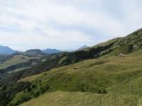 Panorama su Piani di Artavaggio (sx) e Alpe Casera Aralalta (dx)