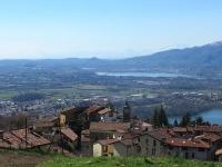 Pianura Lecchese e Comasca - Sullo sfondo il Monte Rosa