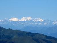 Le Alpi dalla vetta del San Primo - Mischabel