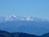 Le Alpi dalla vetta del San Primo - Trittico Sempione (Weissmies, Lagginhorn, Fletschhorn)