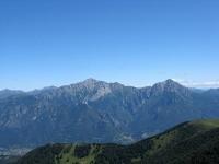 Le Prealpi dalla vetta del San Primo - Le Grigne