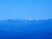 Le Alpi dalla vetta del San Primo - Gran Paradiso