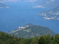 La punta di Bellagio dalla Bocchetta di Terrabiotta