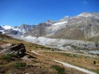 Stafelalp - La morena del Zmuttgletscher