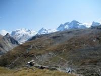 Magnifico panorama sulle vette del Monte Rosa dallo Schwarzsee