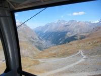 In cabinovia dallo Schwarzsee a Trockener Steg - Zermatt