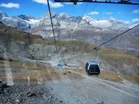 In cabinovia dallo Schwarzsee a Trockener Steg
