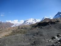 Trockener Steg - Panorama sul massiccio del Monte Rosa