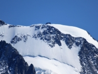 Trockener Steg - Panorama sulla capanna Regina Margherita  Mt 4.554 (Punta Gnifetti)